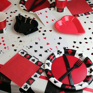 Tema del Casino de Catering y Vajilla