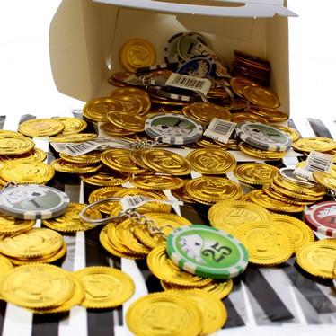 Accesorios para fiesta temática de casino