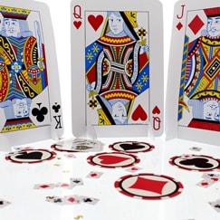 Decoraciones de fiestas temáticas de casino