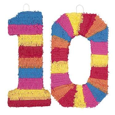 Número de piñatas