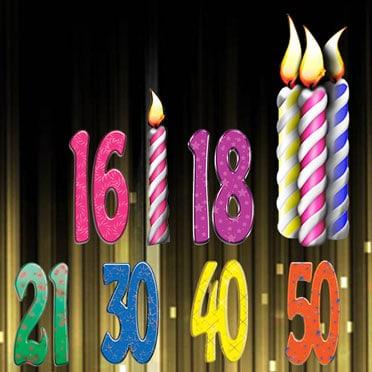 Cumpleaños tamaño de la vida recortes de cartón
