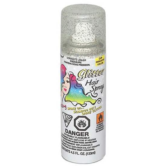 Spray Para El Cabello Con Brillo Plateado - 133 Ml