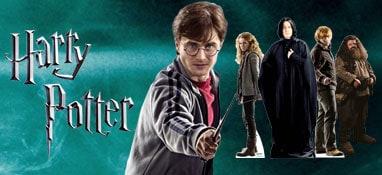 Harry Potter tamaño natural recortes de cartón