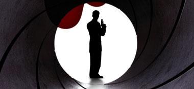 James Bond tamaño natural recortes de cartón