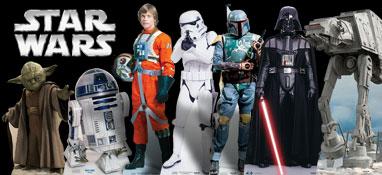Recortes de cartón Star Wars