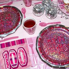 Rosa Glitz 100 Cumpleaños