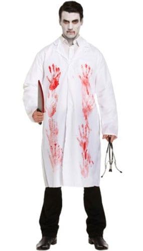 Disfraz De Doctor Sangriento Adultos Disfraz