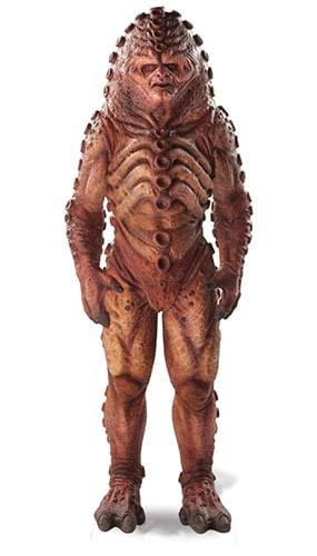 Dr Who Zygon (50 Aniversario Especial) Recorte De Cartón - 183Cm