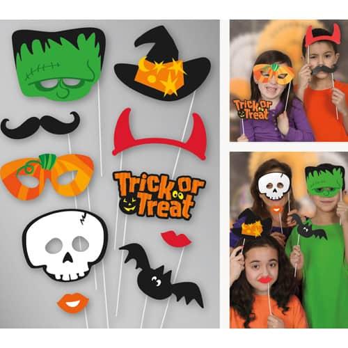 Accesorios De Accesorios De Fotos De Halloween - Paquete De 10