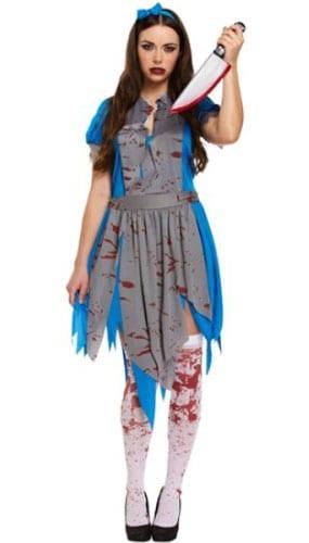 Disfraz De Alicia De Terror Adultos Disfraces De Halloween
