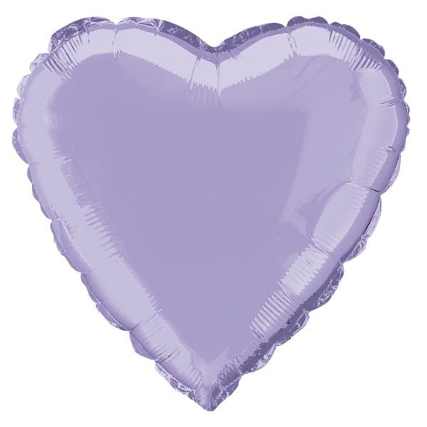 Globo Foil Corazón Lavya 45 cm