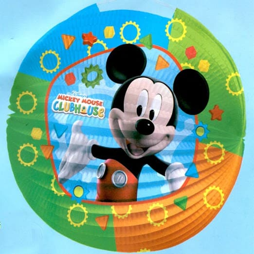 Mickey Mouse Clubhouse Linterna De Papel