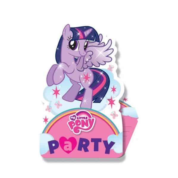Mis Pequeñas Invitaciones De Pony Con Sobres - Paquete De 8.