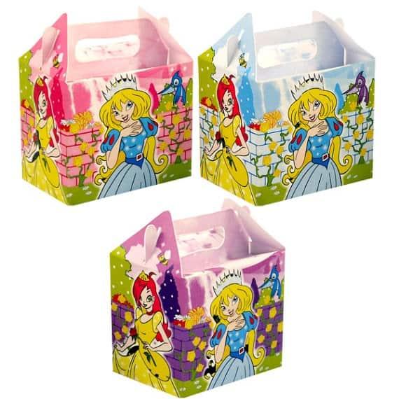 Caja De Comida De Princesa