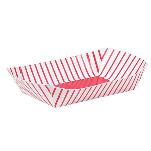 Bandeja del bocado de papel - Paquete de 4