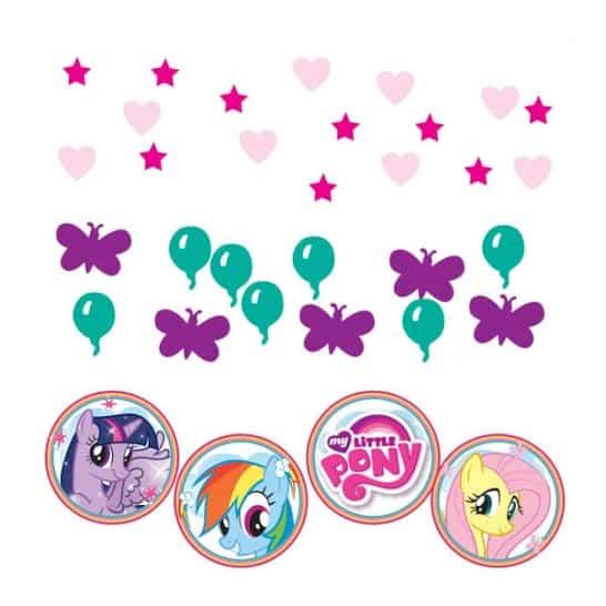 Mi pequeño Pony confeti - 34 gramos - Pack de 3