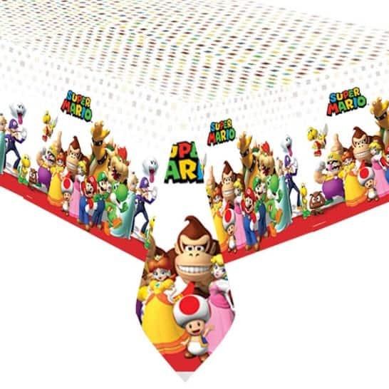 Mantel De Plástico Super Mario 243Cm X 137Cm