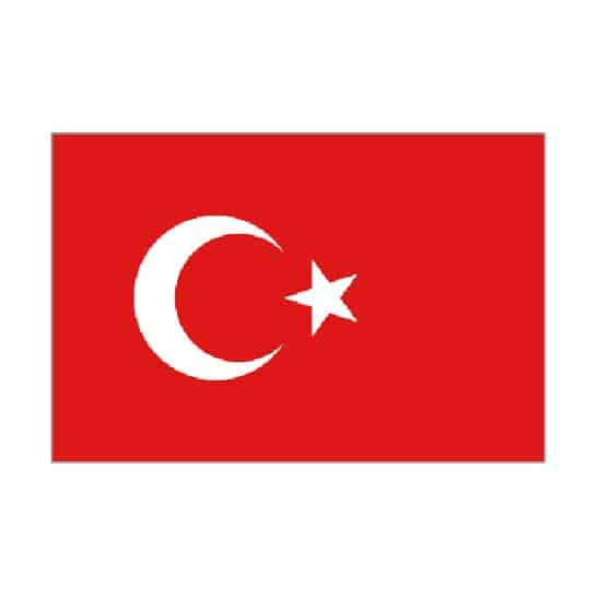 Bandera de Turquía - 5 x 3Ft