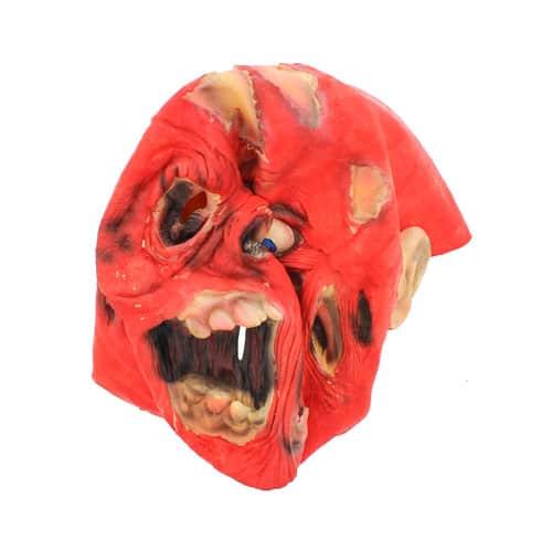 Máscara de terror zombi