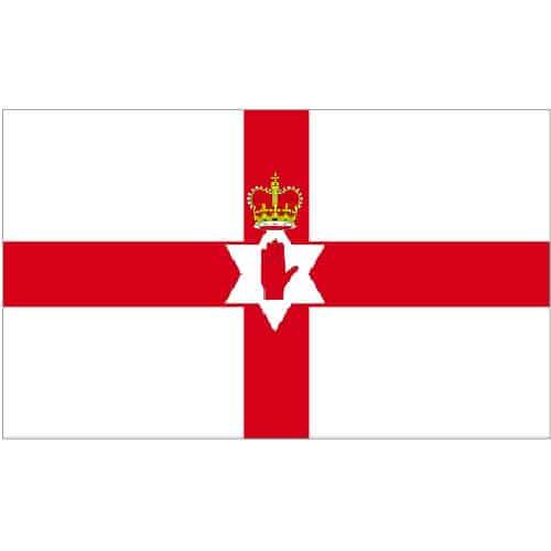 Bandera de Irlanda del Norte - 5 x 3Ft