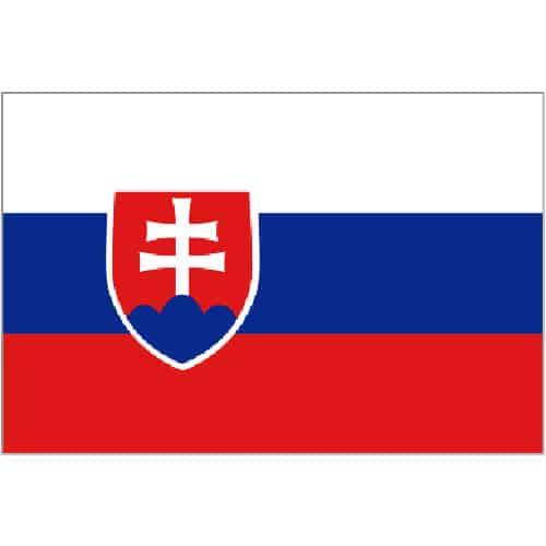 Bandera de Eslovaquia - 5 x 3Ft