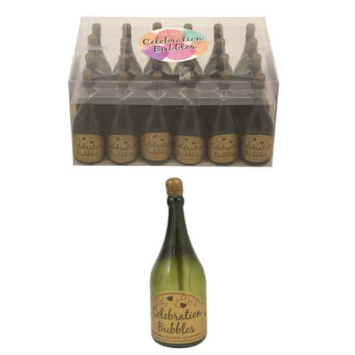 Champagne Botella Burbuja - 32ml - Paquete de 24