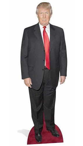 Tamaño Donald Trump Vida Figura de Cartón - 186cm