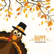 Suministros de Fiesta de Acción de Gracias