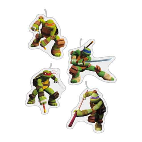 Joven Mutante Ninja Tortugas Fiesta Velas - Paquete de 4