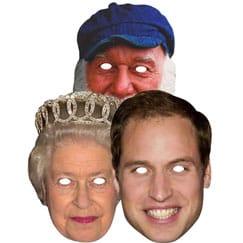 Máscaras de famosos británicos