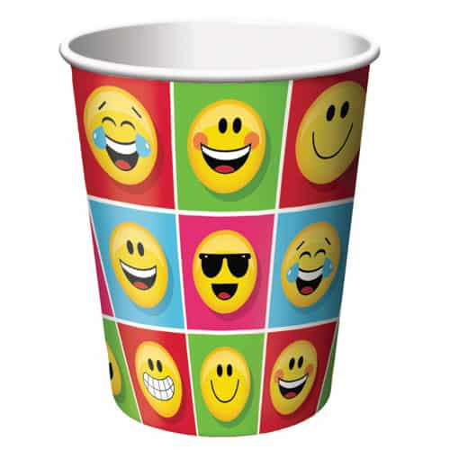 Emoji Diseños de la Taza de Papel 266ml