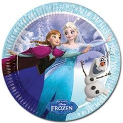Suministros de fiesta congelados de Disney