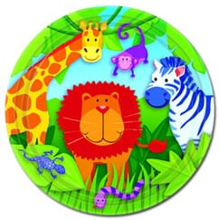 Suministros de fiesta temática de animales