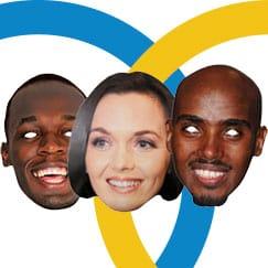 Celebridad Deportes Cara Máscaras