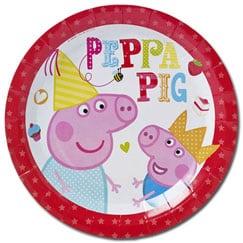 Suministros de fiesta de Peppa Pig