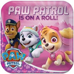 Paw Patrol Rosa Suministros Fiesta