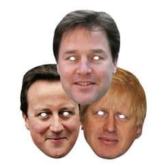 Máscaras de Los Políticos