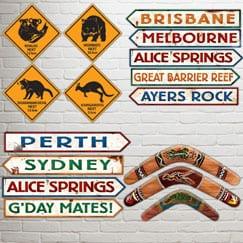 Recortes de fiesta de Australia
