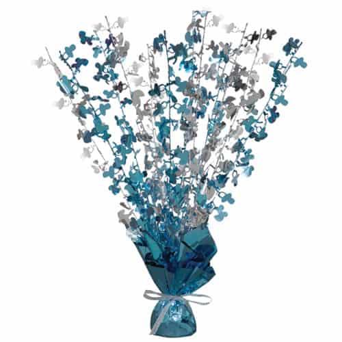 Glitz Azul Bebé Globo Ducha Peso Habitación Central