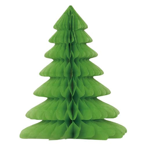 Navidad Decoración Del Arbol de Nido de Abeja - 30cm