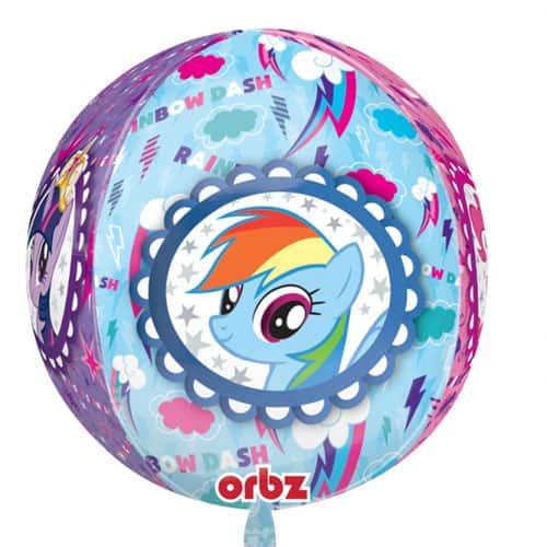 Mi Pequeño Pony Globo De Helio De Papel De Aluminio Orbz 38Cm / 15 In