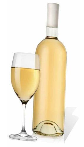 Recorte de Cartón de Vidrio y Vino Blanco - 184cm