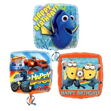 Globos de cumpleaños para niños