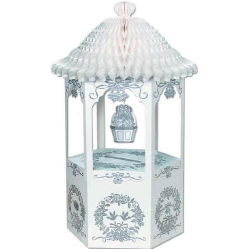 Nido de Abeja Bell Top Deseando Bien la Tarjeta de boda y la Caja de Dinero -72cm