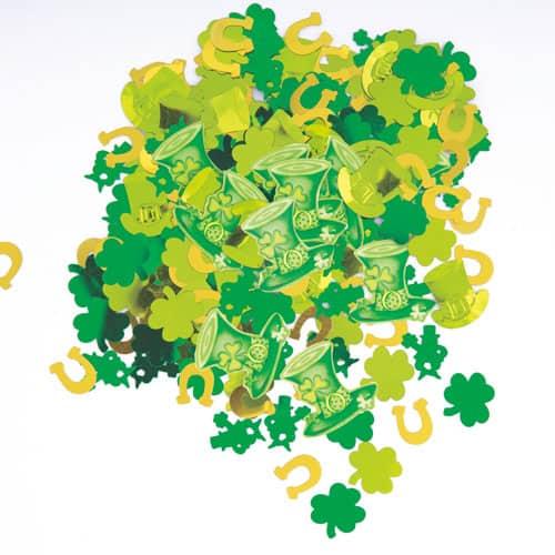 140g St Patricks Day Lucky raya confeti