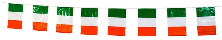 Irlanda Bandera de Plástico Bunting - 366cm