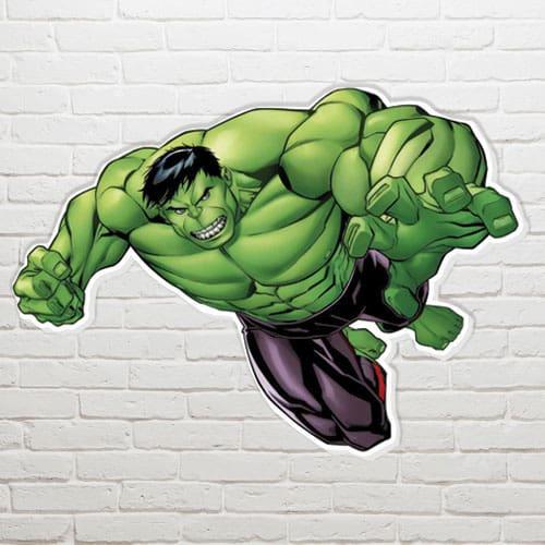 Marvel El Hulk Arte de la Pared - 63 x 83cm