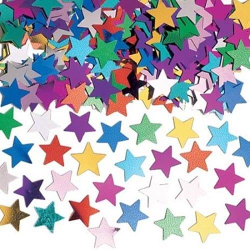 Confetti de Mesa Estrella Multi Color - 14 Gramos