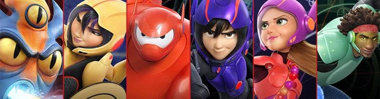 Big Hero 6 Fuentes del Fiesta Top Image