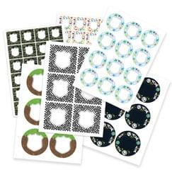 Etiquetas para bolsas de fiesta para niños
